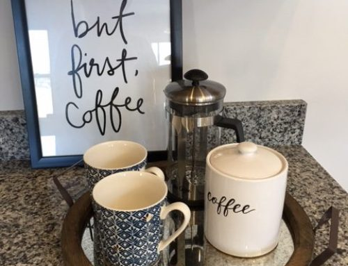 Tablescape Coffee Station