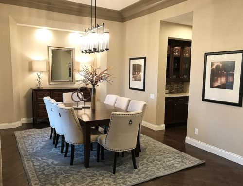 Model Home Dining Room Home Staging