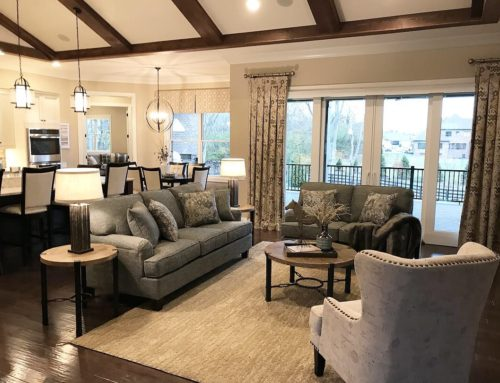Model Home Living Room Home Staging