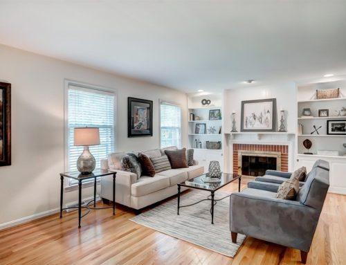 Mariemont Ohio – Living Room Home Staging